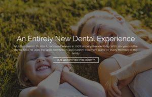 Mukilteo dentist new website