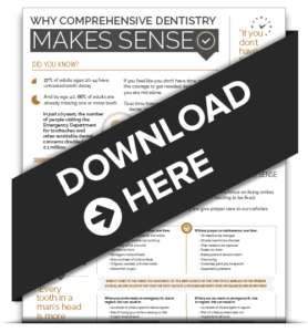 Preview of our Free infographic on Comprehensive Dentistry