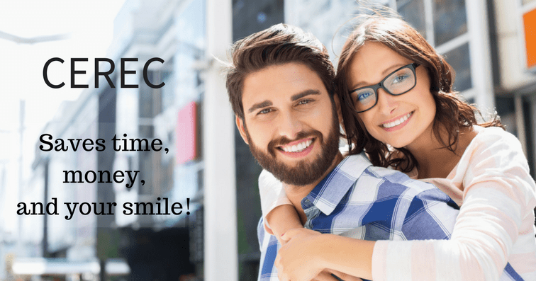 CEREC can restore your smile with a new crown in just one office visit!